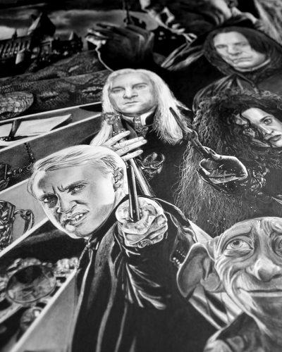 Portrait Géant Harry Potter