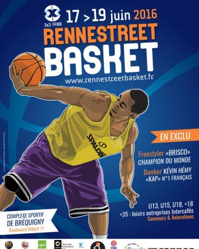 Affiche Street Basket 2016